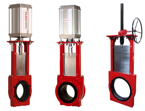McAdoo Adds Flowrox Knife Gate Valves to Portfolio